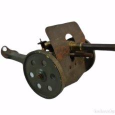 Juguetes antiguos de hojalata: CAÑON DE CAMPO. FIELD GUN. METAL Y BRONCE. 513GR. 25X11X11CM. Lote 269701128