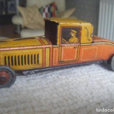 Juguetes antiguos de hojalata: ANTIQUE 1917 VINTAGE GERMAN TINPLATE TOY CAR EARLY CKO KELLERMAN PENNY TOY PFENNIG TOY.. Lote 270181018