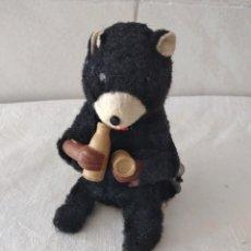 Brinquedos antigos de folha-de-Flandres: ANTIGUO OSO AUTOMATA BEBIENDO 1950S POSIBLEMENTE MADE IN JAPAN. Lote 274314158