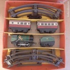Brinquedos antigos de folha-de-Flandres: ANTIGUO TREN HOJALATA MARCA HORNBY -MECCANO MADE IN ENGLAND AÑOS 50-60,LIMITED EDITION. Lote 275782568