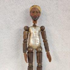 Brinquedos antigos de folha-de-Flandres: SABA BUCHERER, MUÑECO ARTICULADO 1920, SUIZA.. Lote 276793133