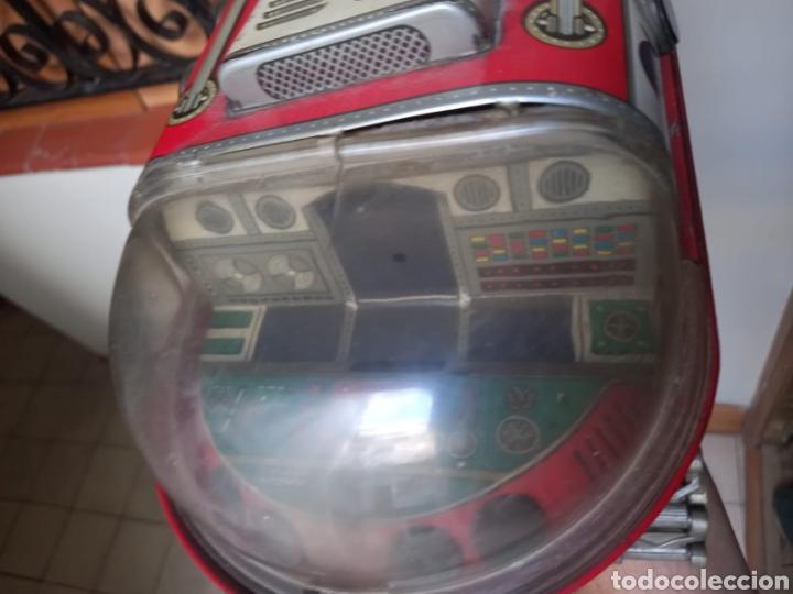 Juguetes antiguos de hojalata: Tanque lunar años 50-60 NASA - Foto 4 - 277216858