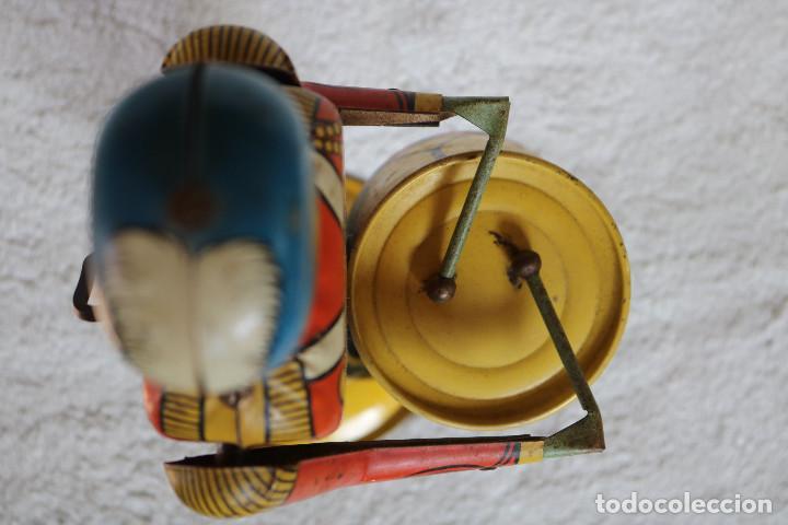 Juguetes antiguos de hojalata: GRAN SOLDADO CON TAMBOR DE HOJALATA A CUERDA - Nº 27 DRUM MAJOR - WOLVERINE - MADE IN USA - Foto 17 - 283293428