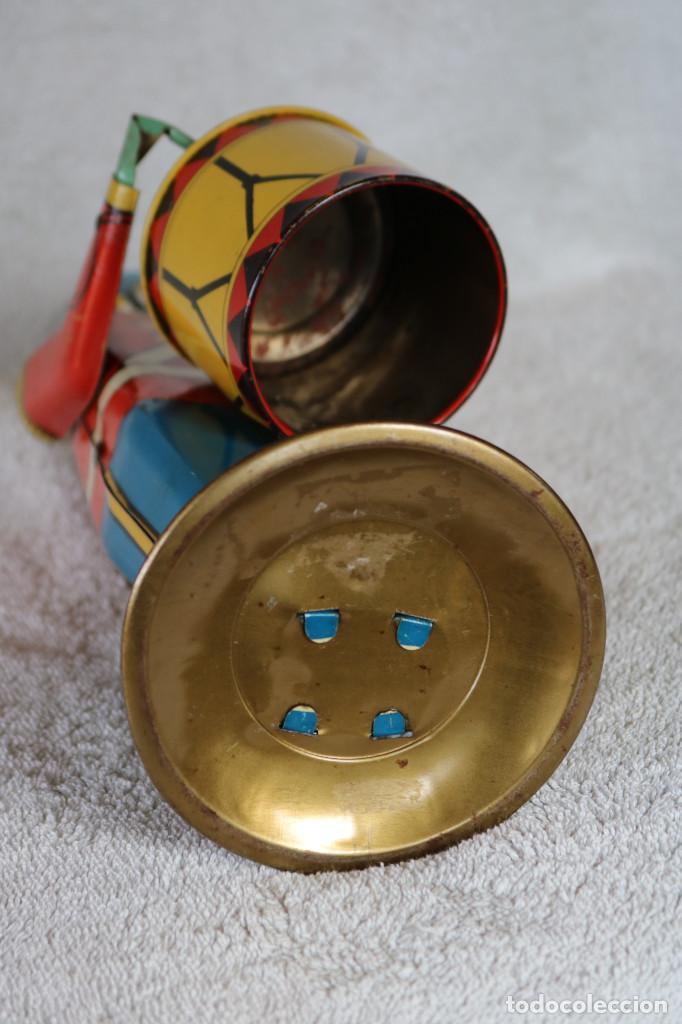 Juguetes antiguos de hojalata: GRAN SOLDADO CON TAMBOR DE HOJALATA A CUERDA - Nº 27 DRUM MAJOR - WOLVERINE - MADE IN USA - Foto 18 - 283293428