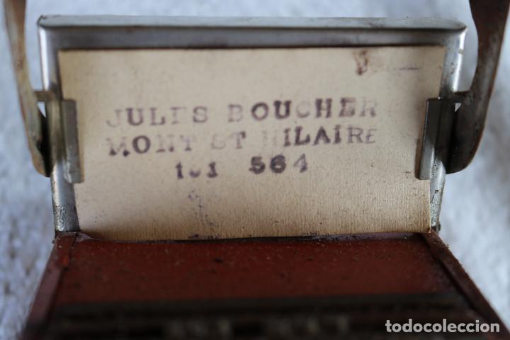 Juguetes antiguos de hojalata: MAQUINA IMPRENTA DE HOJALATA - CON SU CAJA ORIGINAL Y ACCESORIOS - Foto 7 - 283305268