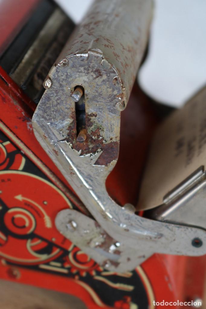 Juguetes antiguos de hojalata: MAQUINA IMPRENTA DE HOJALATA - CON SU CAJA ORIGINAL Y ACCESORIOS - Foto 10 - 283305268