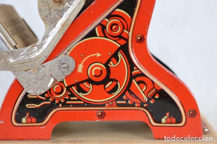 Juguetes antiguos de hojalata: MAQUINA IMPRENTA DE HOJALATA - CON SU CAJA ORIGINAL Y ACCESORIOS - Foto 5 - 283305268