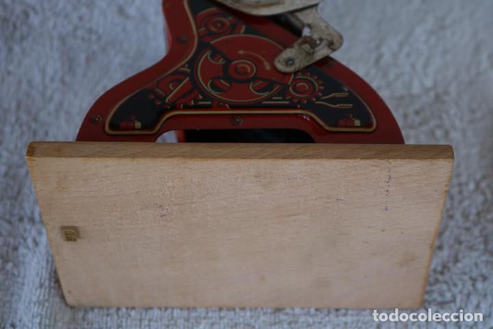 Juguetes antiguos de hojalata: MAQUINA IMPRENTA DE HOJALATA - CON SU CAJA ORIGINAL Y ACCESORIOS - Foto 27 - 283305268