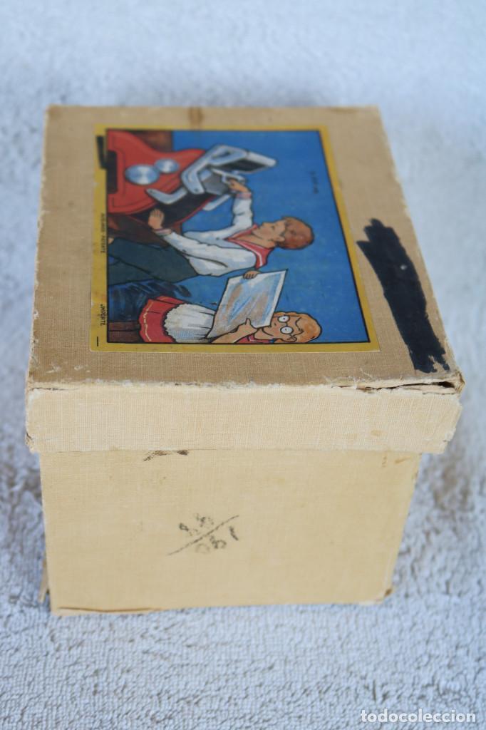 Juguetes antiguos de hojalata: MAQUINA IMPRENTA DE HOJALATA - CON SU CAJA ORIGINAL Y ACCESORIOS - Foto 23 - 283305268