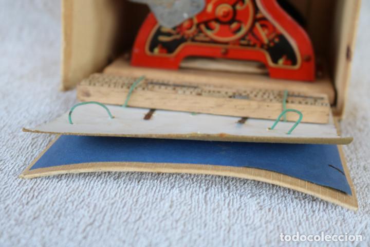 Juguetes antiguos de hojalata: MAQUINA IMPRENTA DE HOJALATA - CON SU CAJA ORIGINAL Y ACCESORIOS - Foto 26 - 283305268
