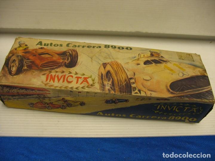 Juguetes antiguos de hojalata: invicta ,coches de carreras años 40 - Foto 4 - 283659698