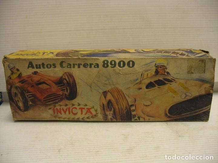 Juguetes antiguos de hojalata: invicta ,coches de carreras años 40 - Foto 21 - 283659698