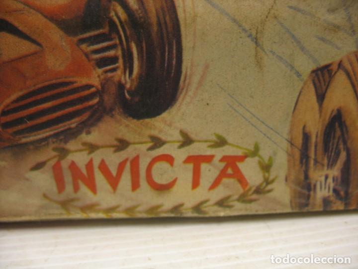 Juguetes antiguos de hojalata: invicta ,coches de carreras años 40 - Foto 22 - 283659698