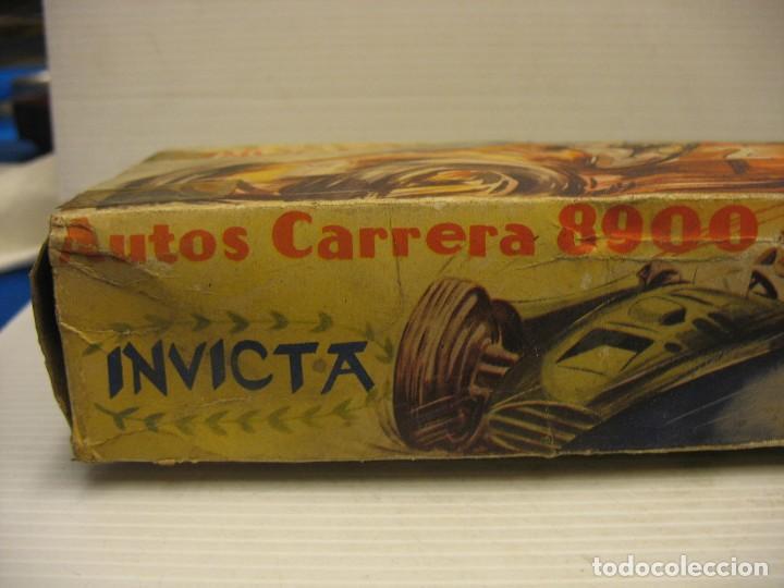 Juguetes antiguos de hojalata: invicta ,coches de carreras años 40 - Foto 24 - 283659698