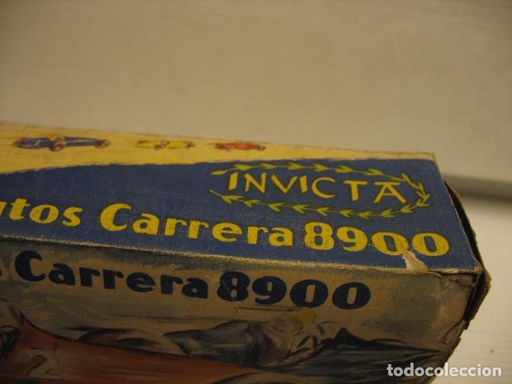 Juguetes antiguos de hojalata: invicta ,coches de carreras años 40 - Foto 26 - 283659698