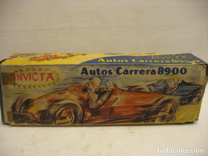 Juguetes antiguos de hojalata: invicta ,coches de carreras años 40 - Foto 28 - 283659698