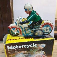 Juguetes antiguos de hojalata: MOTO MS 702 CHINA, AÑOS 60. Lote 287485328