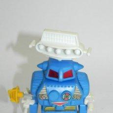 Juguetes antiguos de hojalata: ORIGINAL BLUE RADAR HUNTER ROBOT, WIND UP, SPACE TOY, FUNCIONAMIENTO A CUERDA,. Lote 287971218