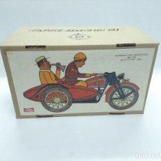 Brinquedos antigos de folha-de-Flandres: REPRODUCCIÓN -MOTO TUF TUF - 1936 - REF. 978 - PAYÁ .. Lote 288153048