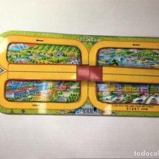 Juguetes antiguos de hojalata: PISTA CIRCUITO DE COCHES HOJALATA TPS JAPAN. Lote 288514978