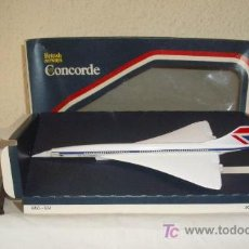 Modelos a escala: AVION CONCORDE,BRITISH AIRWAYS,CORGI TOYS,CAJA ORIGINAL. Lote 21100992