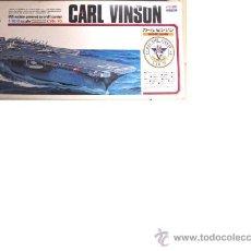 Modelos a escala: ARI I MAQUETA PORTAAVIONES CVN CARL VINSEN. Lote 30540578