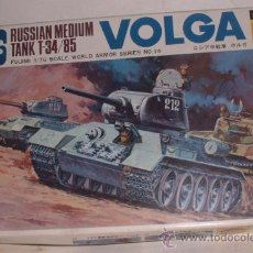 Modelos a escala: MAQUETA RUSSIAN MEDIUM TANK T-34/85, ESCALA 1:76 EN CAJA ( CO1 ) CC. Lote 11962253