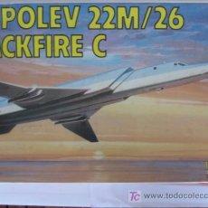 Modelos a escala: MAQUETA AVIONTUPOLEV 22M/26 BACKFIRE C ESCI 1/72. Lote 13970592
