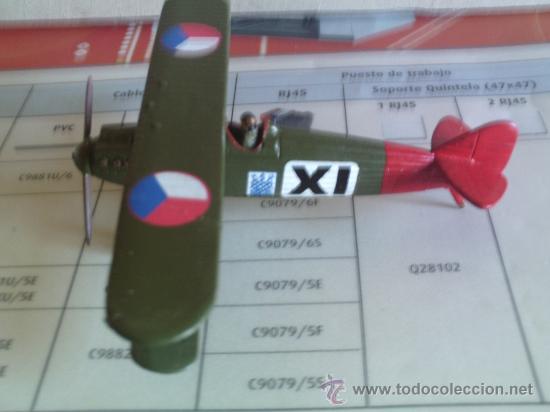 AVION BIPLANO ----- LETOV S-20 1/72 (Juguetes - Modelos a escala)