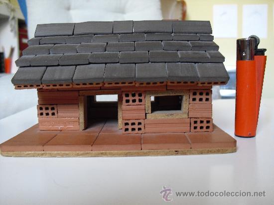 Casa de ladrillos en miniatura maqueta casa m comprar - Como hacer casas en miniatura ...