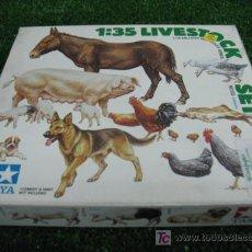Modelos a escala: (TAMIYA) SET DE MINIATURAS DE ANIMALES ESCALA 1/35. Lote 56382075