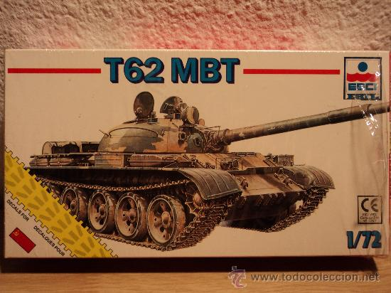 MAQUETA T62 MBT, ESCALA 1/72, MARCA ESCI.- (Juguetes - Modelos a escala)