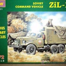 Modelos a escala: MAQUETA SOVIET COMMAND VEHICLE ZIL-157, ESCALA 1/72, MARCA ICM.-. Lote 26461739