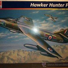 Modelos a escala: MAQUETA HAWKER HUNTER FGA 9, ESCALA 1/32, MARCA REVELL.-. Lote 26432759
