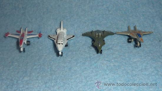 Modelos a escala: Lote de 4 aviones de hierro de juguete - Foto 2 - 24568847
