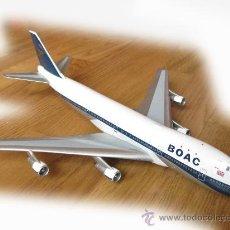 Modelos a escala: MODELO DEL AVION CUATRIMOTOR BOAC BOEING 747 G-AWNA - INFLIGHT 200 LINEAS AEREAS. Lote 24714498