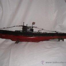 Modelos a escala: SUBMARINO DE HOJALATA. Lote 24721053