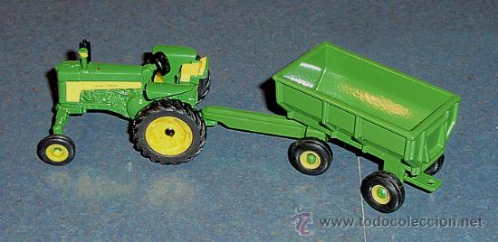 Modelos a escala: Accesorio Tractor Agrícola John Deere: REMOLQUE - ERTL 1/64 - Foto 2 - 27919809