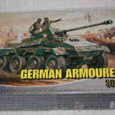Modelos a escala: GERMAN ARMOURED CAR : SD.KFZ.234( AIRFIX ESCALA 1/76) NUEVO. Lote 28491130