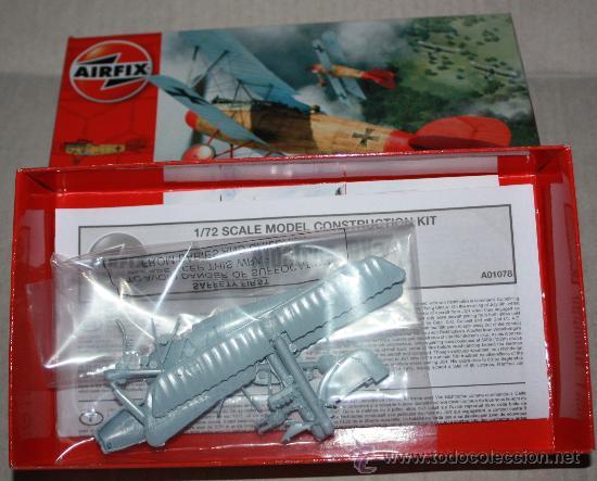 Modelos a escala: Avión de guerra ALBATROS DVa ( AIRFIX ESCALA 1/72).nuevo - Foto 2 - 28491125