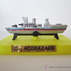 Modelos a escala: BARCO ACORAZADO DE METAL A ESCALA. MINIATURA. REPLICA. MARCA MIRA. .. Lote 28543791