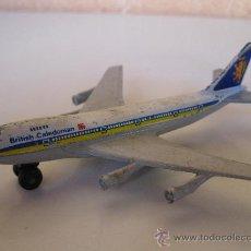 Modelos a escala: BOEING 747 - BRITISH CALEDONIAN - MATCHBOX - SB 10 - AÑO 1973.. Lote 30375470