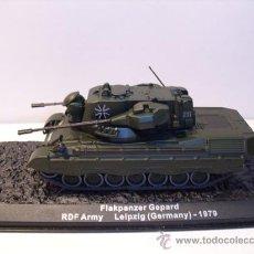 Modelos a escala: TANQUE FLAKPANZER GEPARD (GERMANY) AÑO 1979 -ALTAYA. Lote 30708465