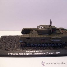Modelos a escala: TANQUE CHURCHILL MK.VII - NORMANDIE (FRANCE) AÑO 1944 -ALTAYA. Lote 30709102