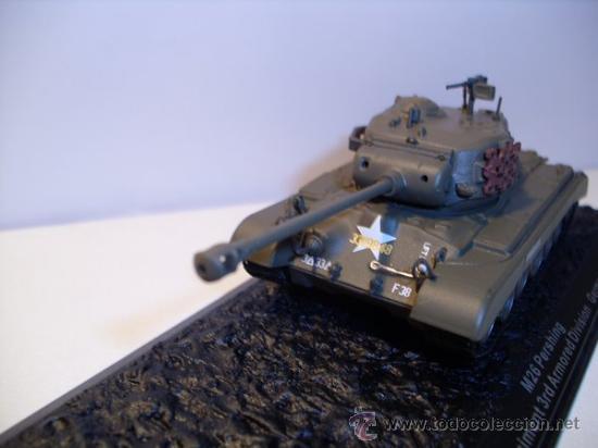 Modelos a escala: TANQUE M26 PERSHING (GERMANY) AÑO 1945 -ALTAYA - Foto 2 - 30708505