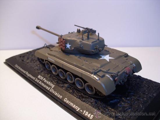 Modelos a escala: TANQUE M26 PERSHING (GERMANY) AÑO 1945 -ALTAYA - Foto 3 - 30708505