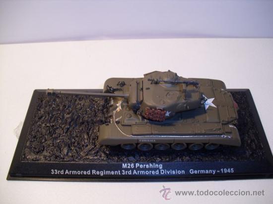 Modelos a escala: TANQUE M26 PERSHING (GERMANY) AÑO 1945 -ALTAYA - Foto 4 - 30708505