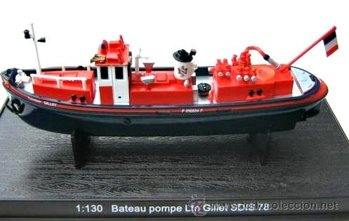 BARCO DE BOMBEROS (Juguetes - Modelos a escala)