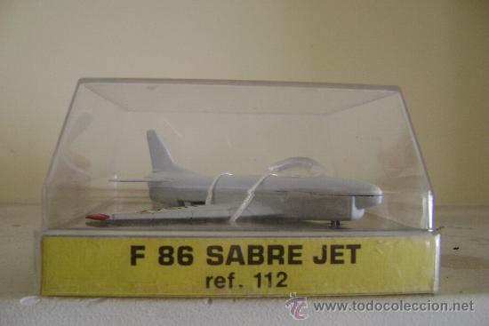 Modelos a escala: AVION DE METAL PLAYME F 86 SABRE JET .REFª112.EN SU CAJA - Foto 3 - 53008917