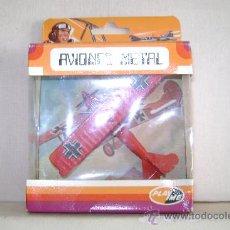Modelos a escala: AVION DE METAL PLAYME.FOKKER D7.REFª108.EN SU CAJA. Lote 238115130